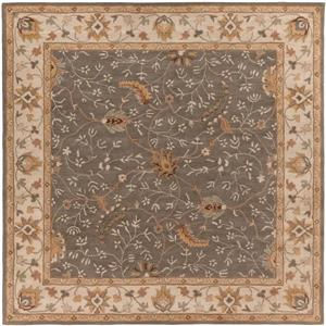 Surya Caesar Traditional Area Rug - 8-ft - Square - Brown