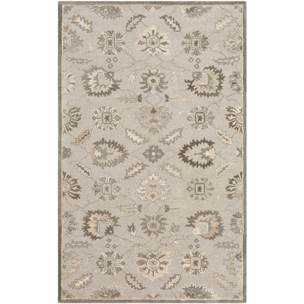 Surya Caesar Traditional Area Rug - 12-ft x 15-ft - Rectangular - Grey