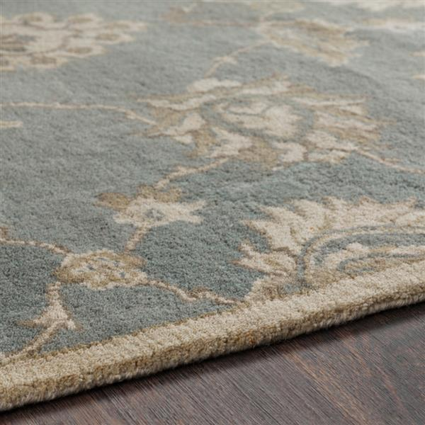 Surya Caesar Traditional Area Rug - 7-ft 6-in x 9-ft 6-in - Rectangular - Olive