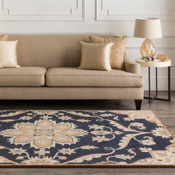 Surya Caesar Traditional Area Rug - 8-ft - Square - Navy