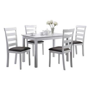 Oakland Living Dining Set - White - Set of 5