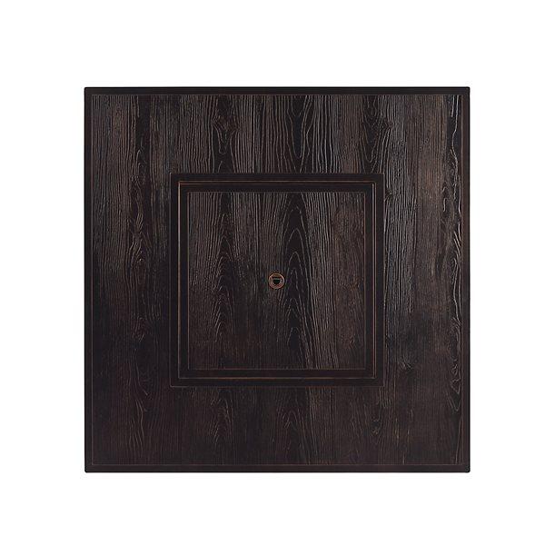 Oakland Living Square Propane Fire Table - 42-in x 24.5-in - 55,000 BTU - Antique Copper