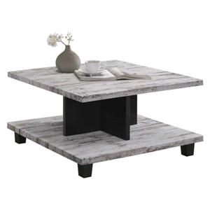 Oakland Living Modern Square Coffee Table - 32-in x 18-in - Grey