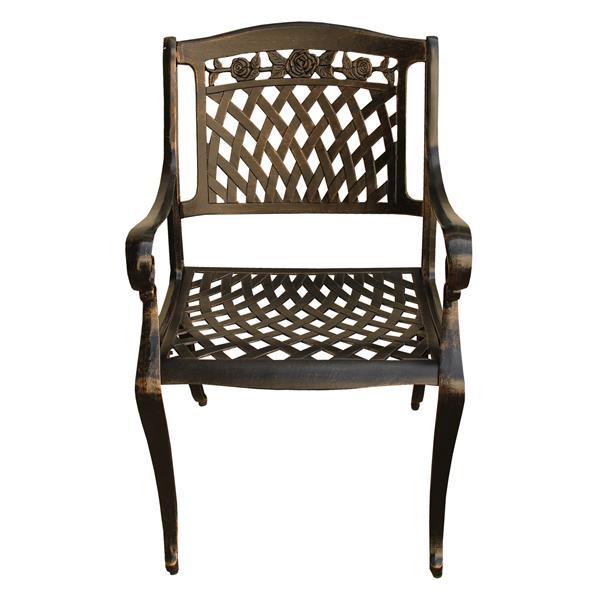 Oakland Living Patio Chair - 36-in x 26-in - Bronze