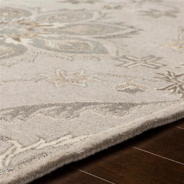 Surya Caesar Traditional Area Rug - 9-ft 9-in - Square - Taupe