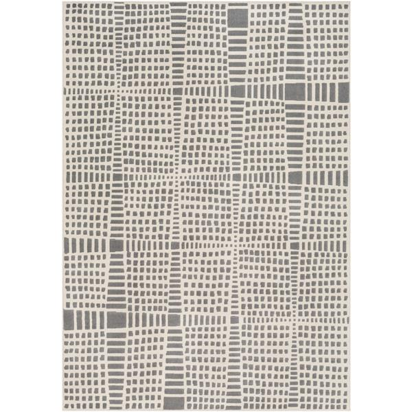 Surya City Modern Area Rug - 5-ft 3-in x 7-ft 3-in - Rectangular - Taupe