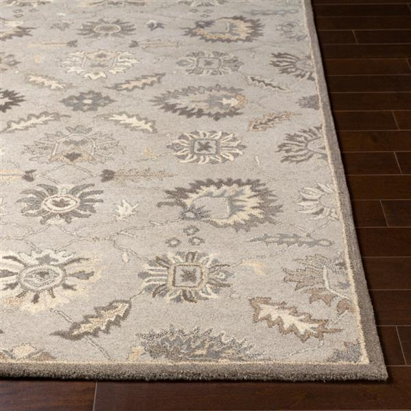 Surya Caesar Traditional Area Rug - 8-ft x 10-ft - Oval - Grey