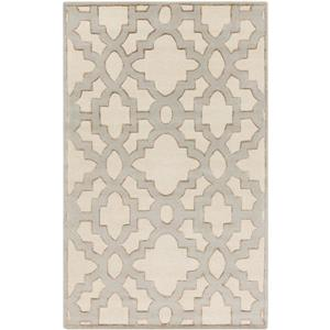 Surya Modern Classics Transitional Area Rug - 9-ft x 13-ft - Rectangular - Cream
