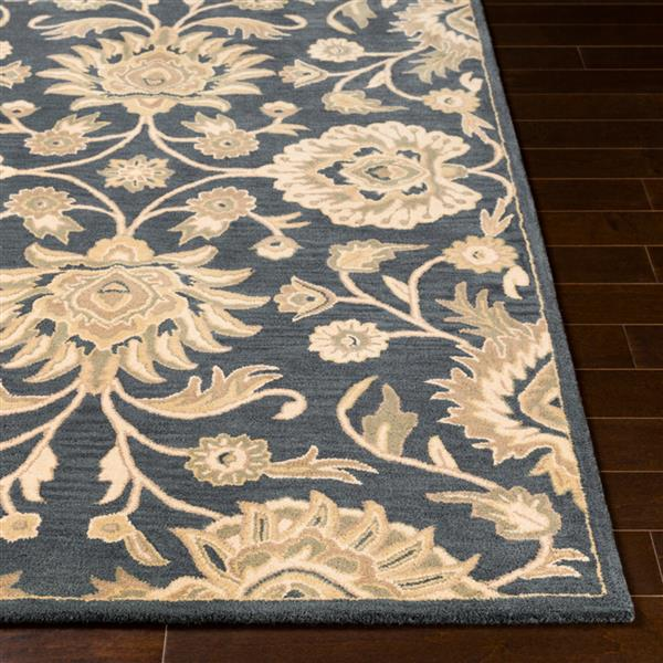 Surya Caesar Traditional Area Rug - 6-ft x 9-ft - Rectangular - Dark Blue