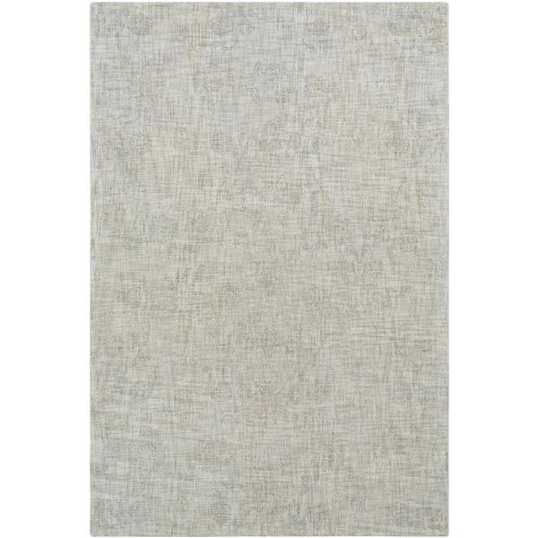 Surya Christie Updated Traditional Area Rug - 8-ft x 10-ft - Rectangular - Grey