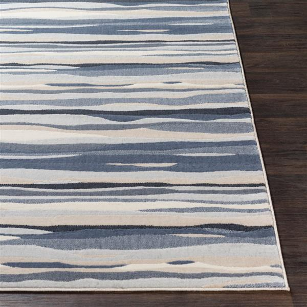 Surya City Modern Area Rug - 7-ft 10-in x 10-ft 3-in - Rectangular - Taupe