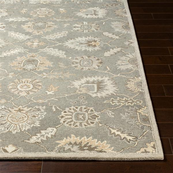 Surya Caesar Traditional Area Rug - 8-ft x 10-ft - Oval - Taupe