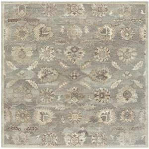 Surya Caesar Traditional Area Rug - 6-ft - Square - Taupe