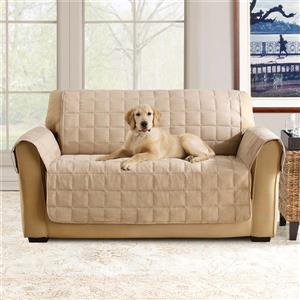 Sure Fit Ultimate Waterproof Loveseat Cover - 73-in x 37-in - Brown