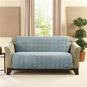 Sure Fit Deluxe Pet Loveseat Cover - 73-in x 37-in - Mist