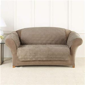 Sure Fit NovaCool Pet Loveseat Cover - 73-in x 37-in - Taupe