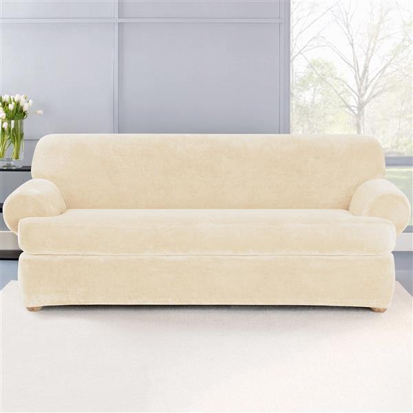Surefit Sure Fit Stretch Plush Sofa, Sure Fit Pet Furniture Cover