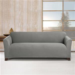 Sure Fit Stretch Morgan Sofa Cover - 96-in x 37-in - Grey