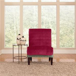 Sure Fit Deluxe Pet Cover for Armchair - Burgundy