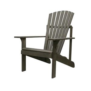 Vifah Renaissance Outdoor Patio Wood Adirondack  Chair