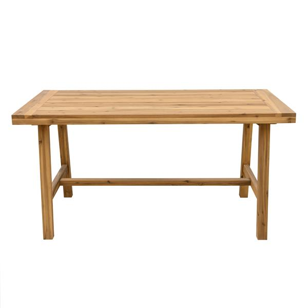 Vifah Miami Outdoor Patio Picnic Dining Table