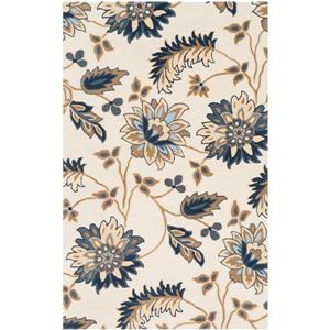 Surya Athena Transitional Area Rug - 7-ft 6-in x 9-ft 6-in - Rectangular - Beige