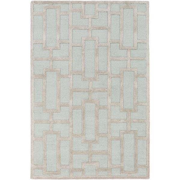Surya Arise Modern Area Rug - 4-ft x 6-ft - Rectangular - Sage