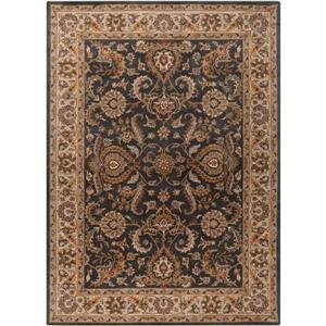 Surya Middleton Traditional Area Rug - 3-ft x 5-ft - Rectangular - Olive/Camel
