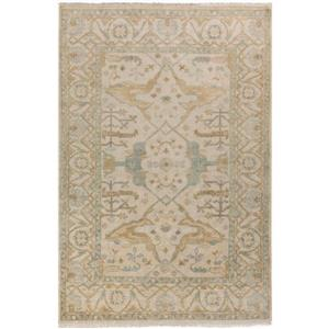 Surya Antique Traditional Area Rug - 5-ft 6-in x 8-ft 6-in - Rectangular - Sage