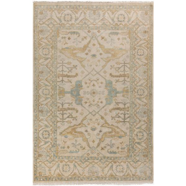 Surya Antique Traditional Area Rug - 3-ft 6-in x 5-ft 6-in - Rectangular - Sage