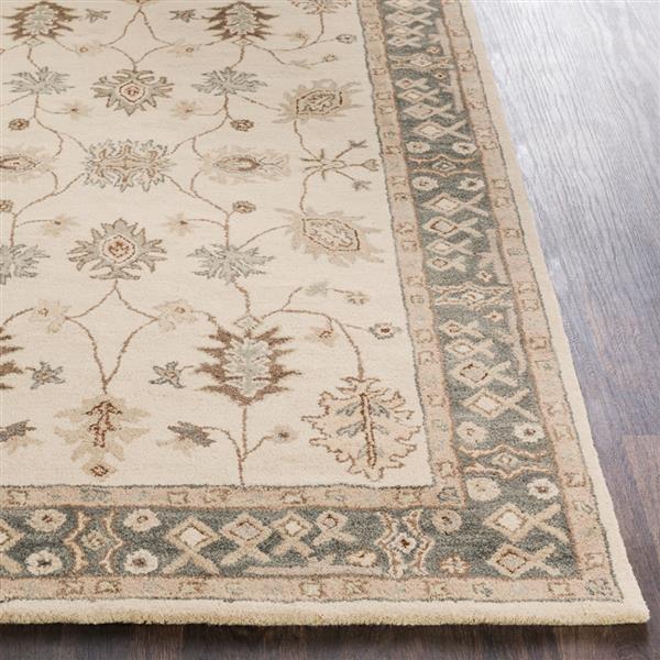 Surya Middleton Traditional Area Rug - 4-ft x 6-ft - Rectangular - Khaki