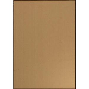 Novelle Home Golden Fibre Rug - 2.6-ft x 4.9-ft - Beige/Gold