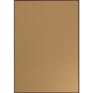 Tapis Golden Fibre de Novelle Home, 2, 6 pi x 4, 9 pi, beige/or