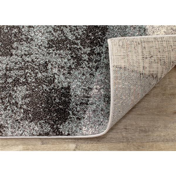 Kalora Soho Rug - Modern Pattern - 7.8-ft x 10.5-ft - Grey
