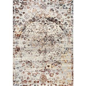 Kalora Sidra Rug - Faded Pattern - 7.58-ft x 10.5-ft - Cream