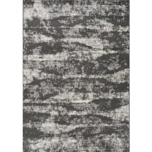 Novelle Home Converge Rug - Windy Shapes - 5.25-ft x 7.58-ft - Grey