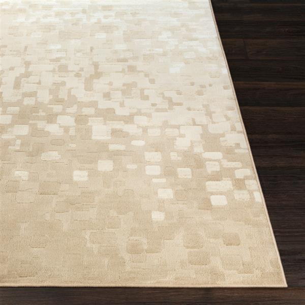 Surya Contempo Modern Area Rug - 7-ft 10-in x 10-ft - Rectangular - Beige