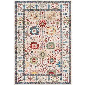 Surya Crafty Traditional Area Rug - 9-ft x 12-ft 3-in - Rectangular - Multi