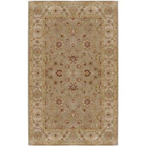 Surya Crowne Traditional Area Rug - 10-ft x 14-ft - Rectangular - Taupe