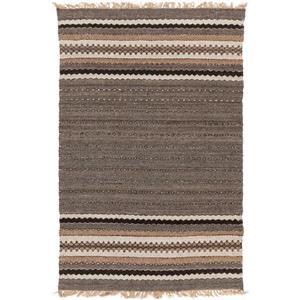 Surya Camel Bohemian Area Rug - 5-ft x 8-ft - Rectangular - Brown