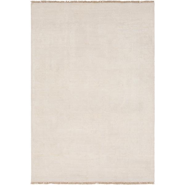 Surya Courtney Updated Traditional Area Rug - 2-ft x 3-ft - Rectangular - Cream