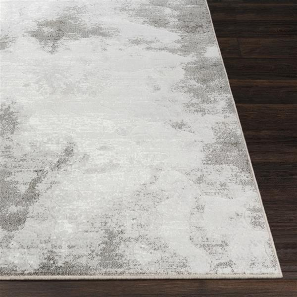 Surya Contempo Modern Area Rug - 9-ft 2-in x 12-ft 9-in - Rectangular - Gray