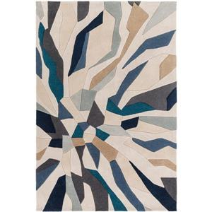 Surya Cosmopolitan Modern Area Rug - 9-ft x 13-ft - Rectangular - Blue