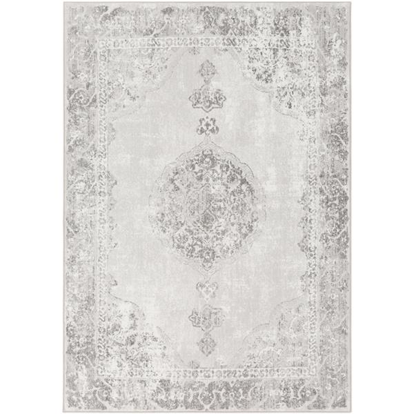 Surya Contempo Updated Traditional Area Rug - 3-ft 11-in x 5-ft 7-in - Rectangular - Camel