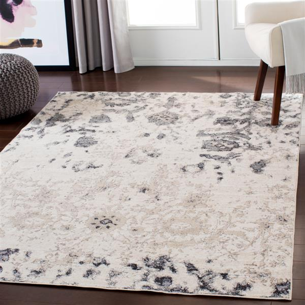 Surya Crescendo Updated Traditional Area Rug - 9-ft x 13-ft 1-in  - Rectangular - Beige