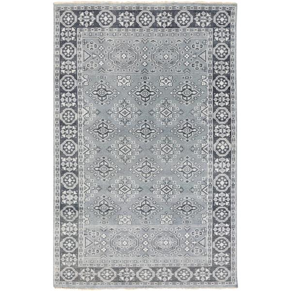 Surya Cappadocia Traditional Area Rug - 3-ft 6-in x 5-ft 6-in - Rectangular - Pale Blue