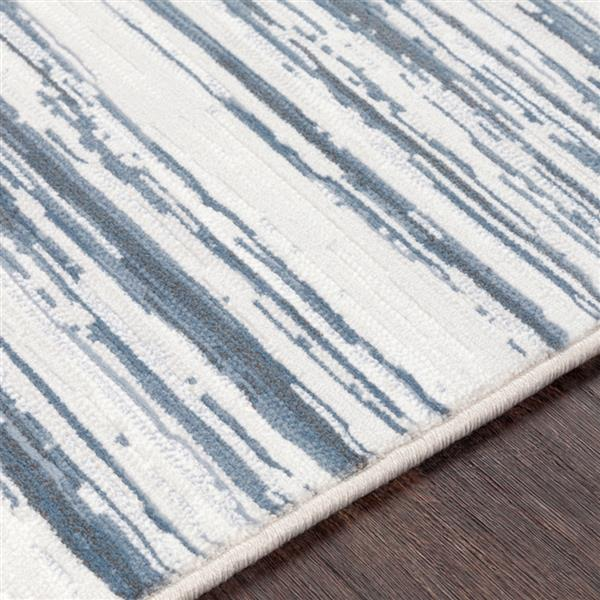 Surya Contempo Modern Area Rug - 9-ft 2-in x 12-ft 9-in - Rectangular - Blue