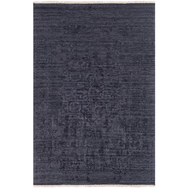 Surya Courtney Updated Traditional Area Rug - 2-ft x 3-ft - Rectangular - Black