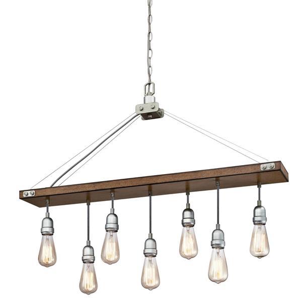 Westinghouse Lighting Canada Elway Chandelier - 7-Light - Barnwood