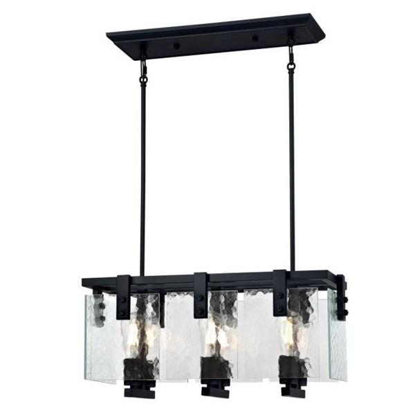 Westinghouse Lighting Canada Zane Chandelier - 6-Light - Matte Black